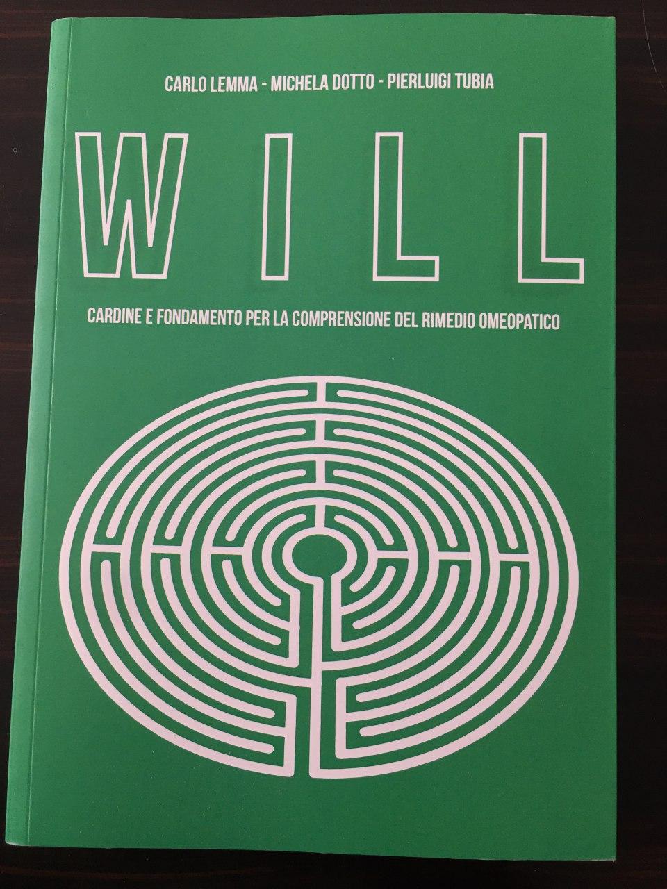 Copertina libro Will